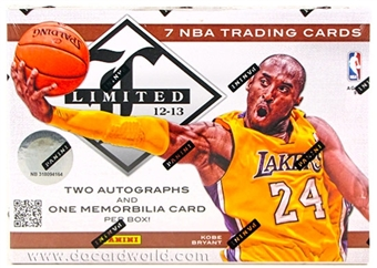 2012/13 Panini Limited Basketball Hobby Case - DACW Live Random Team Break
