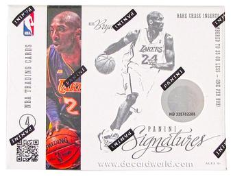 2012/13 Panini Signatures Basketball Hobby Case - DACW Live 30 Team Random Group Break
