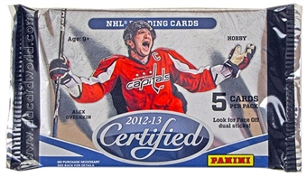 2012/13 Panini Certified Hockey Hobby Pack