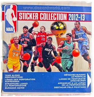 2012/13 Panini Basketball Sticker Box