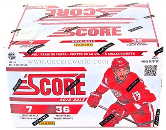 2012/13 Score Hockey 36-Pack Box