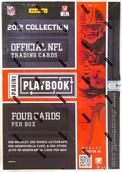 2012 Panini Playbook Football Hobby Box - LUCK & WILSON ROOKIES!