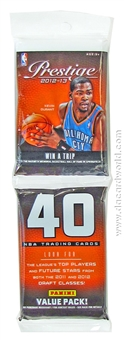 2012/13 Panini Prestige Basketball Value Rack Pack