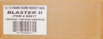 2012/13 Score Hockey 11-Pack 20-Box Case