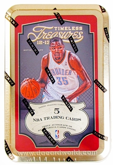 2012/13 Timeless Treasures Basketball Hobby 20-Box Case - DACW Live 30 Team Random Team Break