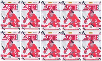 2012/13 Score Hockey 11-Pack Box (Lot of 10)