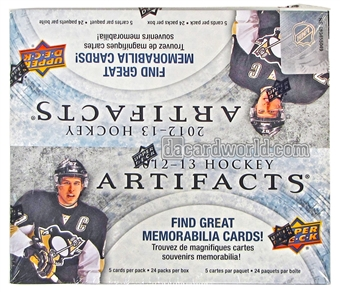 2012/13 Upper Deck Artifacts Hockey 24-Pack Box