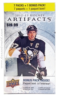2012/13 Upper Deck Artifacts Hockey 8-Pack Box