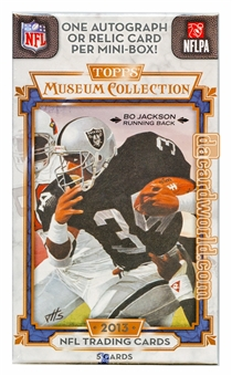 2013 Topps Museum Collection Football Hobby Pack