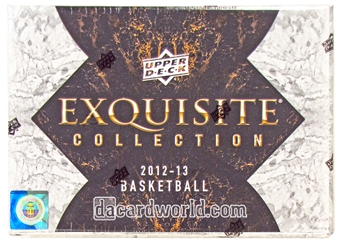 2012/13 Upper Deck Exquisite Basketball Hobby Box