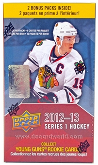 2012/13 Upper Deck Series 1 Hockey 12-Pack Box (10-Box Lot)