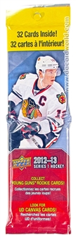 2012/13 Upper Deck Series 1 Hockey Retail Fat Pack (Lot of 12)