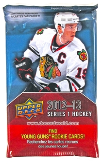 2012/13 Upper Deck Series 1 Hockey Retail Pack
