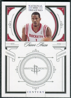 2009/10 Panini Playoff National Treasures Century Silver #52 Trevor Ariza /10