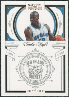 2009/10 Panini Playoff National Treasures Century Gold #71 Emeka Okafor /5