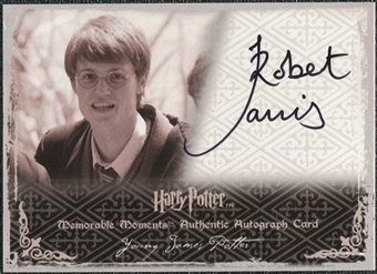 2009 Rittenhouse Harry Potter Memorable Moments 2 Autographs #3 Robert Jarvis Autograph
