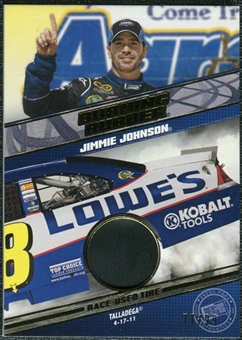 2012 Press Pass Burning Rubber Gold #BRJJ Jimmie Johnson /99