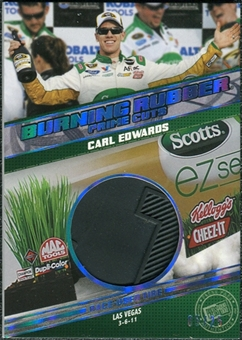 2012 Press Pass Burning Rubber Prime Cuts #BRCE Carl Edwards /25