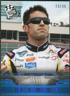 2012 Press Pass Blue Holofoil #38 Aric Almirola NNS /35