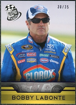 2012 Press Pass Purple #22 Bobby Labonte /35
