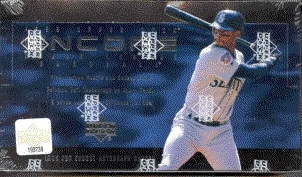 1999 Upper Deck Encore Baseball Hobby Box