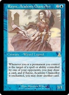 Magic the Gathering Urza's Destiny Single Rayne, Academy Chancellor Foil