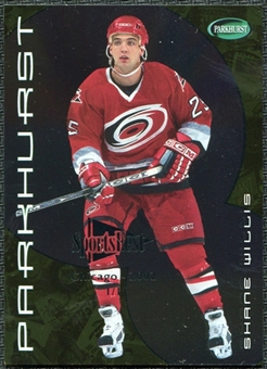 2001/02 Parkhurst Gold Chicago Sportsfest #66 Shane Willis 1/1