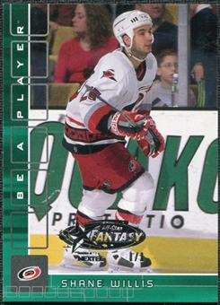 2001/02 BAP Memorabilia NHL All-Star Fantasy Emerald #11 Shane Willis 1/1
