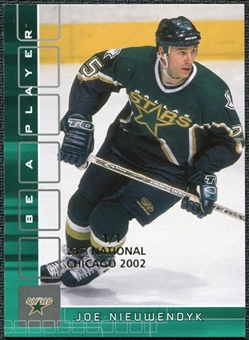 2001/02 BAP Memorabilia Chicago National Emerald #287 Joe Nieuwendyk 1/1
