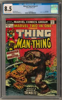 Marvel Two-In-One #1 CGC 8.5 (OW-W) *1218893012*