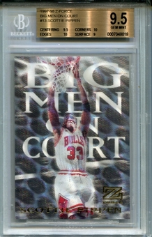 1997/98 Z-Force Big Men on Court #13 Scottie Pippen BGS 9.5 Gem Mint *8018