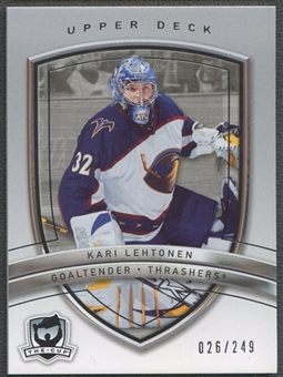 2005/06 The Cup #5 Kari Lehtonen Base #026/249