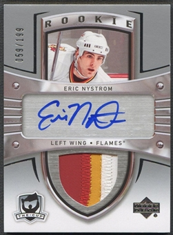 2005/06 The Cup #106 Eric Nystrom Rookie Patch Auto #059/199