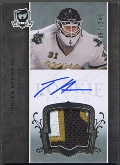 2007/08 The Cup #174 Tobias Stephan Rookie Patch Auto #087/249