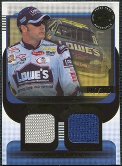 2003 Press Pass Double Burner #DB4 Jimmie Johnson 1/100 Firesuit Glove