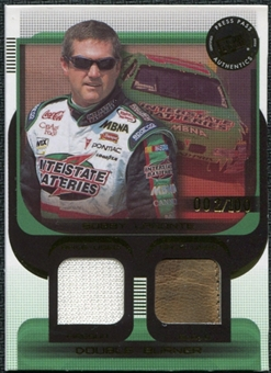 2003 Press Pass Double Burner #DB8 Bobby Labonte 2/100 Firesuit Glove