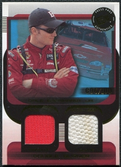 2003 Press Pass Double Burner #DB10 Dale Earnhardt Jr. 6/100 Firesuit Glove