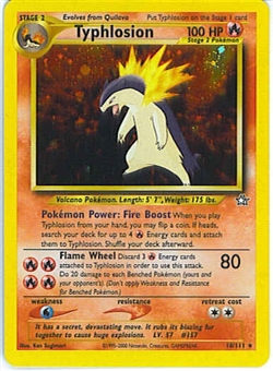Pokemon Neo Genesis Single Typhlosion 18/111