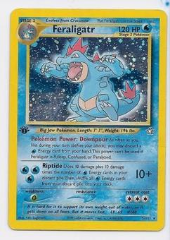 Pokemon Neo Genesis 1st Edition Single Feraligatr 5/111