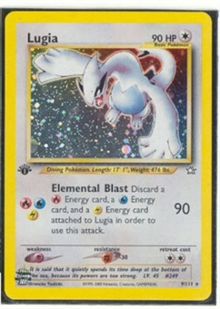 Pokemon Neo Genesis 1st Edition Single Lugia 9/111