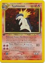 Pokemon Neo Genesis 1st Edition Single Typhlosion 18/111