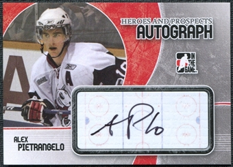 2007/08 In the Game ITG Heroes and Prospects Autographs #AAP Alex Pietrangelo Autograph