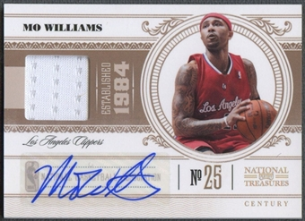 2010/11 Playoff National Treasures #41 Mo Williams Century Jersey Auto #82/99