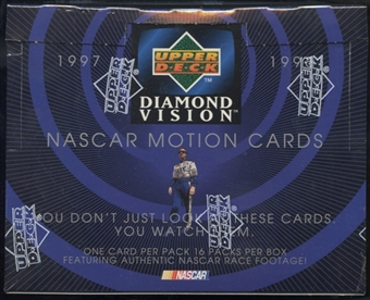 1997/98 Upper Deck Diamond Vision Racing Retail Box