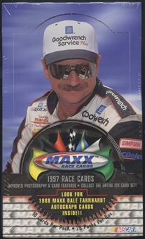 1997 Upper Deck Maxx Racing Retail Box