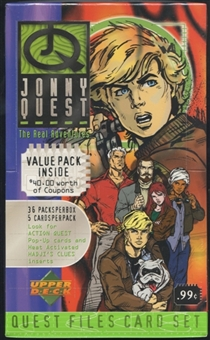 1996 Upper Deck Jonny Quest The Real Adventures Prepriced Box