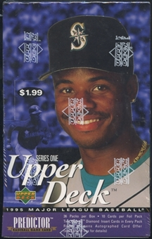 1995 Upper Deck Series 1 Baseball Prepriced Box