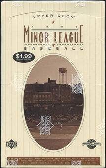 1995 Upper Deck Minor League Baseball Prepriced Box