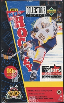 1996/97 Upper Deck Collector's Choice Hockey Prepriced Box