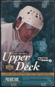 1995/96 Upper Deck Series 2 Hockey French Hobby Box